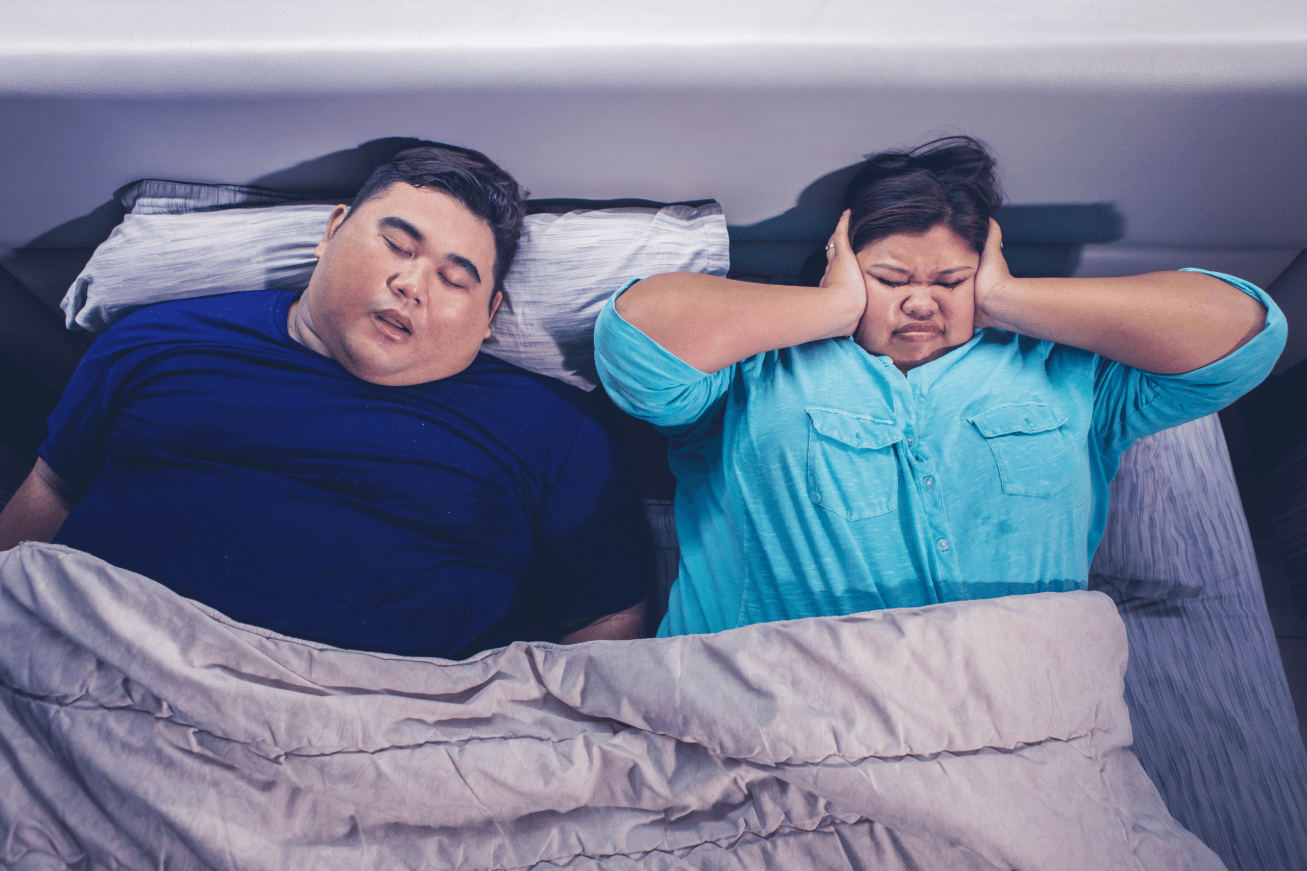 do fat people snore
